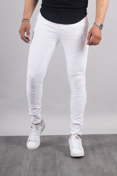 jeans homme blanc 1513