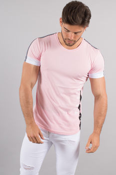 T-shirt homme rose 4500