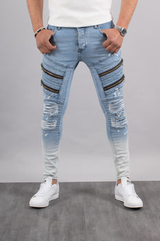 jeans homme  skinny  clair UP3722