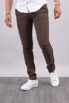 Chino homme marron  5660 M
