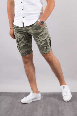 Bermuda homme camouflage 37061