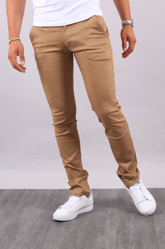 Chino  homme camel 3336