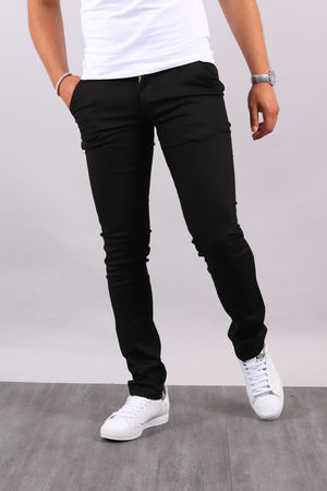 Chino  homme noir 3336