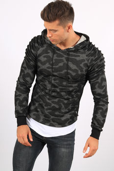 Sweat homme à capuche camp U399