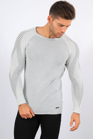 pull homme écru willy 1