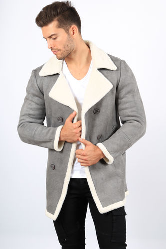 Manteau homme coupe cintree