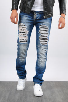 Jeans  homme  destroy cd253