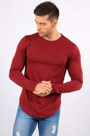 Sweat homme bordeaux 561