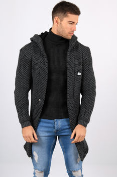 Gilet homme gris antra C162