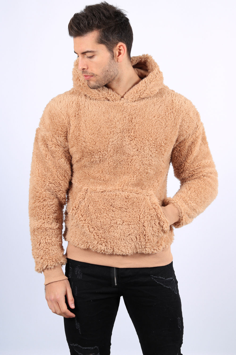 hoodie moumoute homme