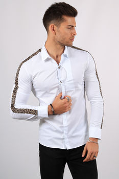 chemise homme blanche F483