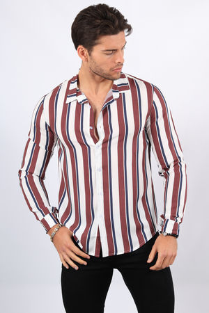 chemise homme fluide blanche 68288