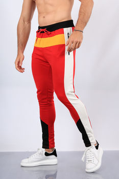 pantalon jogging rouge W1909