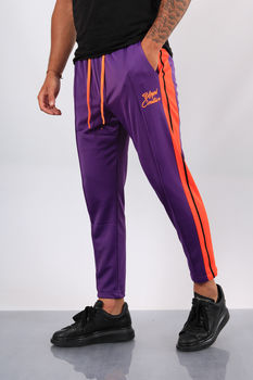 Pantalon jogging  homme violet UP41