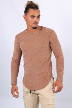 Sweat homme camel 421