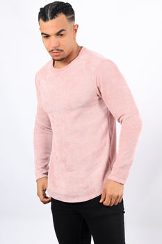 Pull homme rose  670