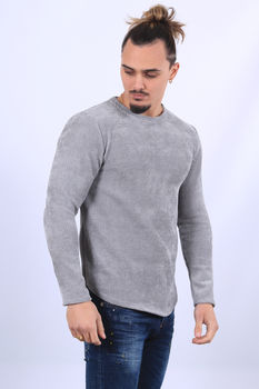 Pull homme gris  670