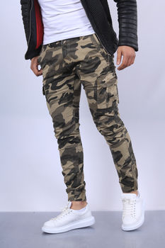 Jeans homme camouflage  13051-3