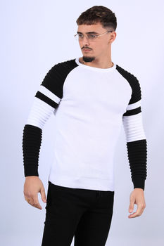 Pull homme blanc JH16