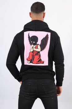 Sweat  homme noir ANGELS 750