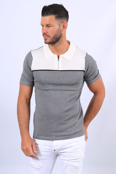 Polo homme gris 5020/4
