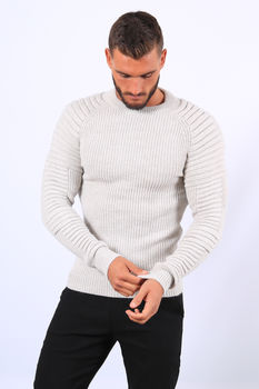 Pull  homme gris 7017