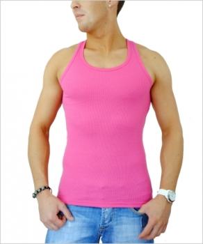 DEBARDEUR homme fashion rose BX32009