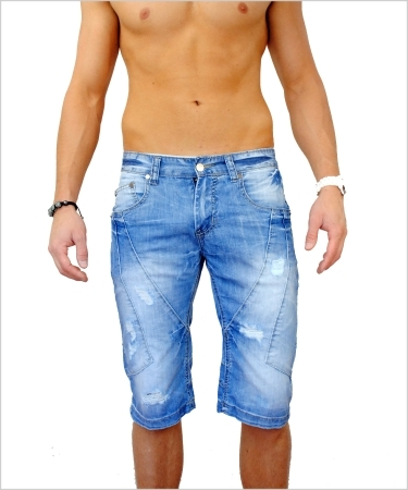Bermuda Jeans homme MISTER FASHION