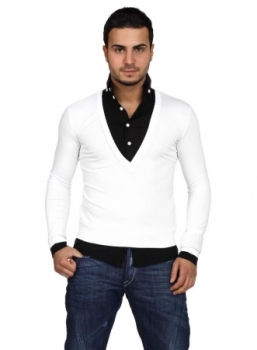 pull chemise homme MISTER FASHION