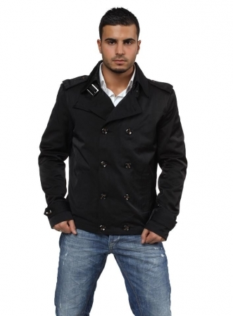 caban trench  homme