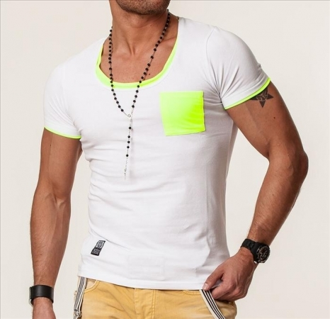 T-shirt homme fluo ca 4049