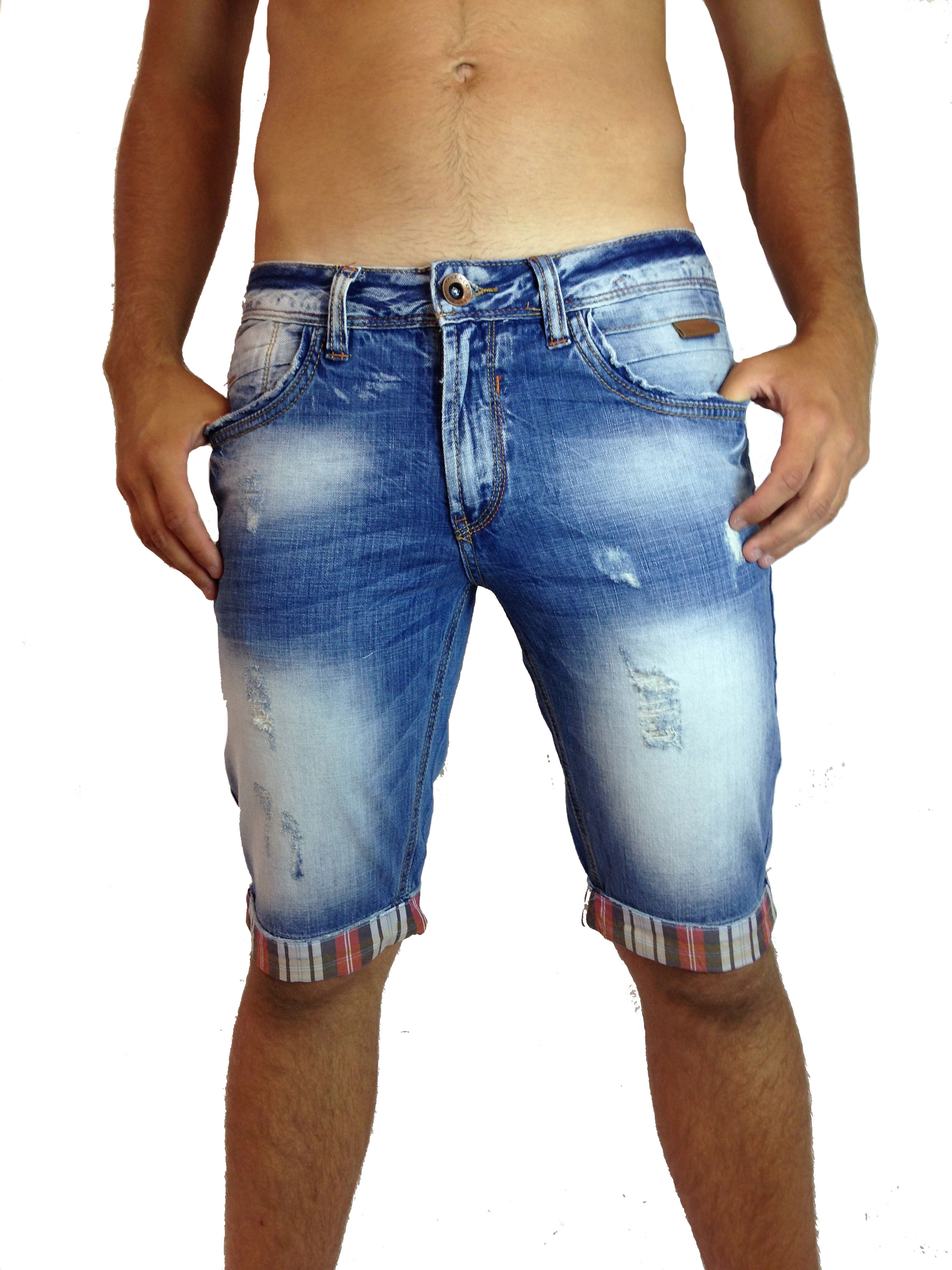 Bermuda pas cher for Short a carreaux homme