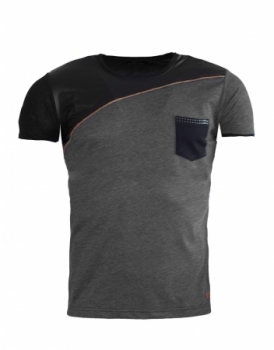 T-shirt homme black151