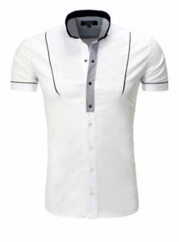 chemise italienne homme blanche 9059