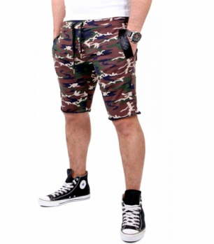 bermuda homme  camouflage 3319