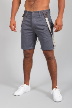 bermuda homme chino gris  bb057
