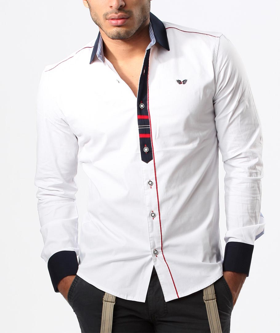 af126b9a713b homme blanche classe chemise homme 8037 chemise blanche classe nIBqYYwO