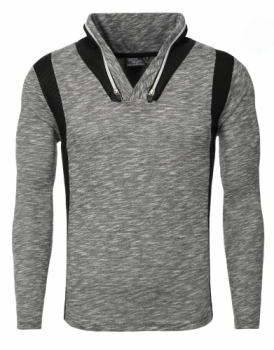 pull homme stylé gris 3112