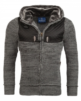 Gilet homme fashion gris 894