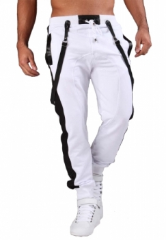 jogging homme fashion blanc 14800