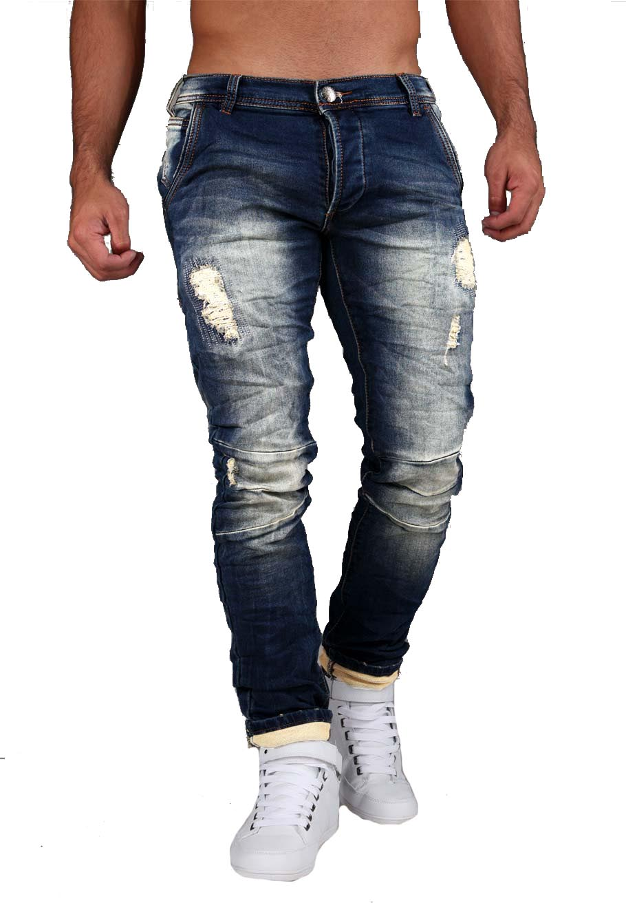 jeans homme stylé 019S