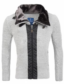 Gilet homme fashion gris 891