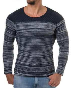Pull automne navy 728