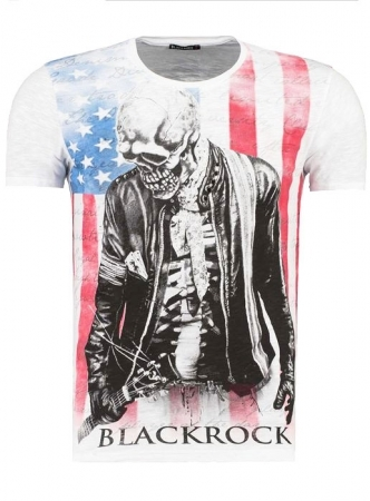 t-shirt blackrock blanc 2026