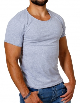 T-shirt homme basic gris 466