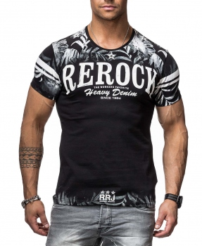 T-shirt homme fashion noir 900