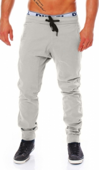 jogging  chino homme gris 327