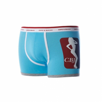 Boxer homme baby blue cbx21