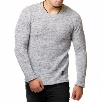 Pull homme fin  blanc DONTAY  783