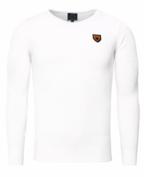 Pull homme blanc SNOW 736